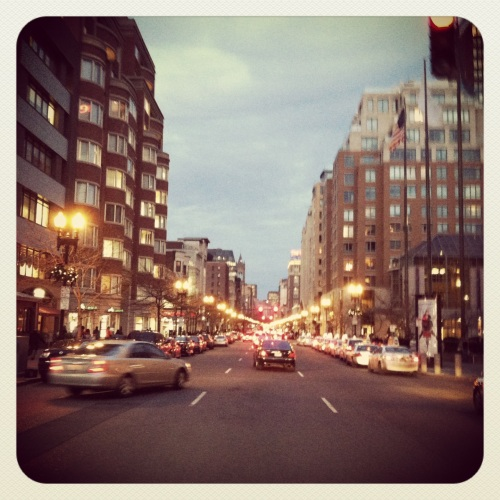 explored downtown Boston on foot